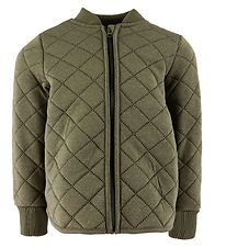 Wheat Thermo Jacket - Loui - Green Melange