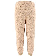 Wheat Thermo Trousers - Alex - Soft Beige Flowers