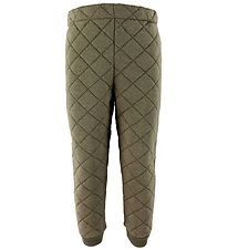 Wheat Thermo Trousers - Alex - Green Melange