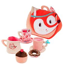 Lilliputiens Tea Set - Fabric - Alice Tea Set