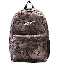 Reebok Backpack - Brown Leopard Print