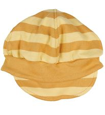 Katvig Cap - Yellow w. Stripes