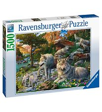 Ravensburger Puzzle - 1500 Pieces - Wolves In Spring