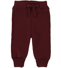 MP Trousers - Wool/Cotton - Bordeaux