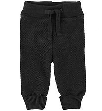 MP Trousers - Wool/Cotton - Charcoal Melange