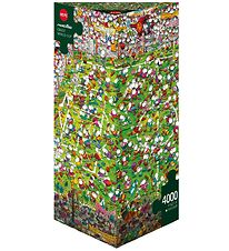 Heye Puzzle - Crazy World Cup - 4000 pcs