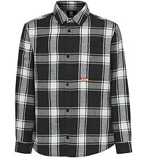 Hummel Shirt - Buthler - Black/White Check