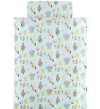 Nørgaard Madsens Duvet Cover - Baby - Light Blue/Circus