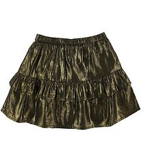 Soft Gallery Skirt - Fern - Gold Lurex