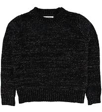 Hound Jumper - Knitted Velvet - Black