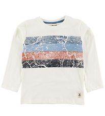 Small Rags Long Sleeve top - Nimbus Cloud