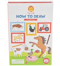 Tiger Tribe Colouring Set - How to Draw - On The Farm