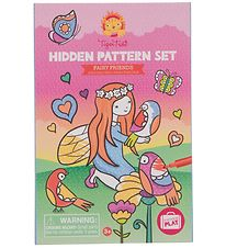 Tiger Tribe Colouring Set - Hidden Patterns - Fairy Friends
