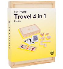 SunnyLife Game Set - Travel 4 In 1 - Malibu