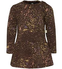 Hummel Dress - Susanne - Brown/Dots