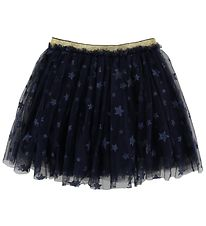 Hust and Claire X-Mas Tulle Skirt - Nynne - Navy w. Stars