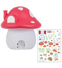 A Little Lovely Company Night Lamp - Mushroom - 19 cm - Forest