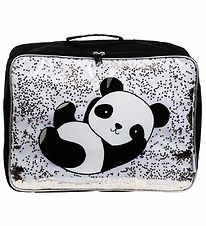A Little Lovely Company Suitcase - Glitter - Panda