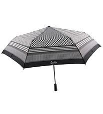 Lala Berlin Umbrella - Ulla - Kufiya Black/White
