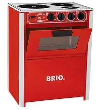 BRIO Kitchen Stove - Red