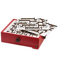 BRIO GAMES Labyrinth Game & Boards - Red