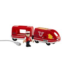 BRIO Travel Rechargeable Train - Red