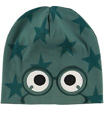 Freds World Beanie - Dream Green w. Eyes