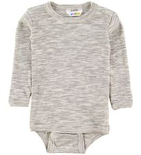 Joha Body l/s - Melange Grey