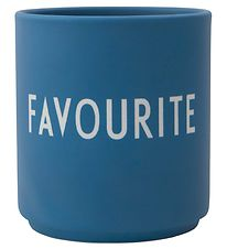 Design Letters Cup - Favourite Cups - Favorite - Blue