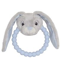 My Teddy Rattle/Teether - Blue/Grey - Bunny