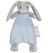 My Teddy Comfort Blanket w. Stuffing - Blue - Bunny