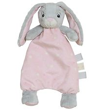 My Teddy Comfort Blanket w. light Stuffing - Rose - Bunny