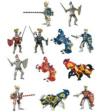 Papo Mini Knights Set - 4 cm - 12 pcs