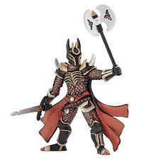 Papo Knight w. Triple Battle Axe - H: 9 cm
