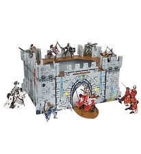 Papo Medieval Castle w. Stickers - 46 cm - My First Castle