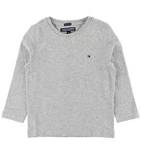 Tommy Hilfiger Long Sleeve Top - Basic - Grey Heather