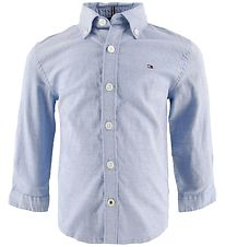 Tommy Hilfiger Shirt - Stretch Oxford - Blue