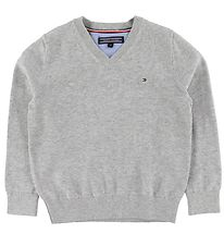 Tommy Hilfiger Pullover - Basic - Grey Heather