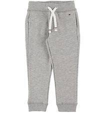 Tommy Hilfiger Sweatpants - Basic - Grey Heather