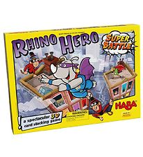 Haba Super Battle Game - Rhino Hero