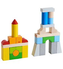 Haba Building Blocks - Wood - Multicolour
