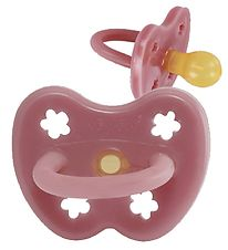 Hevea Dummy - 0-3 mths - Natural Rubber - Watermelon w. Flowers