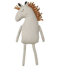 Ferm Living Soft Toy - Horse - 70 cm - Light Grey