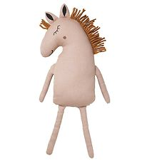 Ferm Living Soft Toy - Horse - 70 cm - Dusty Rose