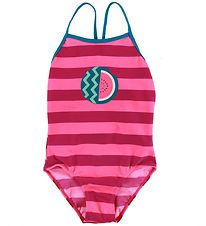 Color Kids Swimsuit - Nova - UV40+ - Raspberry