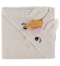 Liewood Hooded Towel - Albert - 70x100 - Unicorn Sandy
