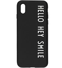 Design Letters Phone Case - iPhone X/XS - Black