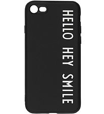 Design Letters Phone Case - iPhone 7/8 - Black