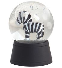 Kids by Friis Mini Snow Globe - D:4,3 cm - Zebra