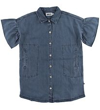 Molo Shirt - Carey - Washed Indigo